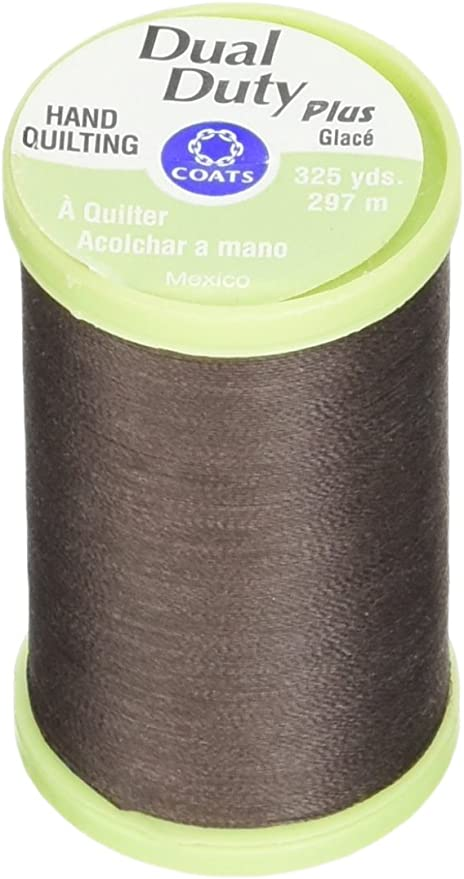 Dark Orange 325-Yard Thread /& Zippers Dual Duty Plus Hand Quilting Thread Coats