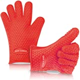 Barbecue Gloves - Large BBQ Grill Gloves for Women and Men - High Heat Grilling Gloves