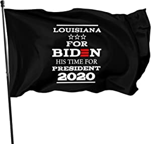 Opplsh Hdrejn Louisiana for Biden President Decorative Garden Flag Yard Banner Garden Flag One Size