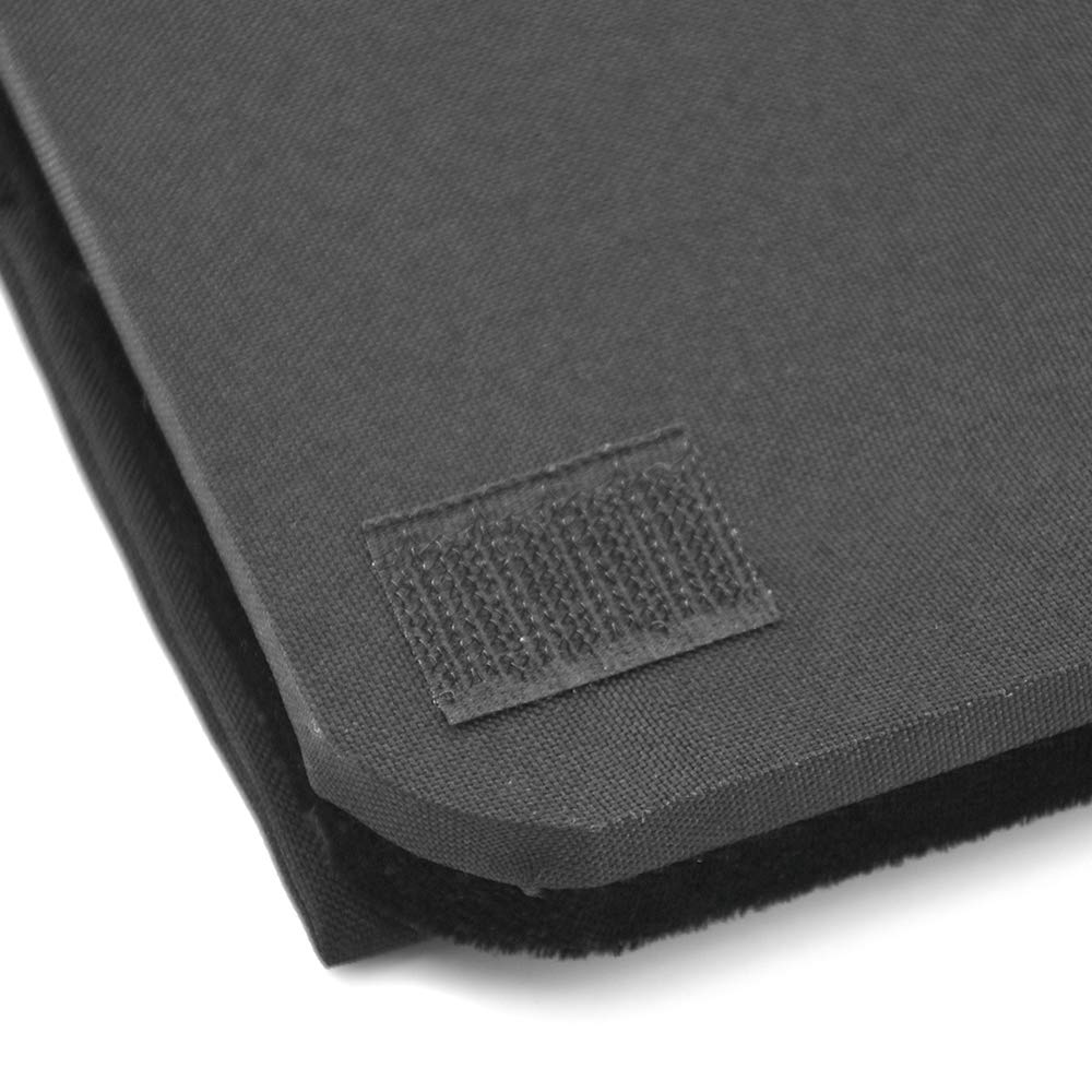 Doowops Presto Pad (Close Up Style, Black,43×33cm/17×13'') Magic Tricks Magician Accessories Gimmick Coin Card Mat Table Hopper Close Up Pa by Doowops (Image #5)
