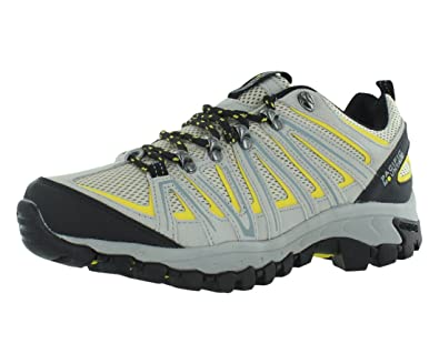 d4475010a44059 Pacific Mountain Ravine Men's Hiking Backpacking Low-Cut Cream/Yellow Boots  Size 7