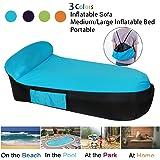 LOUTALA Inflatable Lounger Air Sofa Hammock-Portable Inflatable Couch Air Lounger With Portable Package Air Chair For Camping Travel Picni Pool Hiking Beach