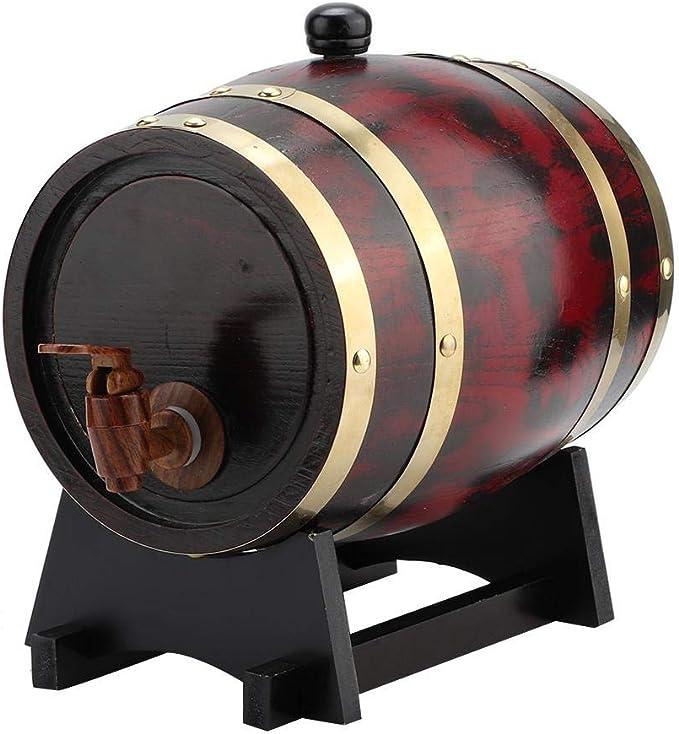 Barril de madera de roble, 3L Hogar Barril de barril de barril de ...