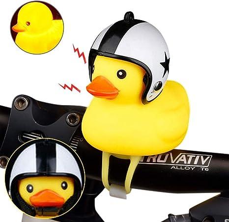 Duck Bike Bell, Casco Amarillo Pato Bicicleta Accesorios de Goma ...