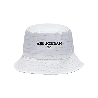 c9d00d53 Jordan Men`s AJ 10 Accolades Reversible Bucket Hat (White(AA1305-100 ...