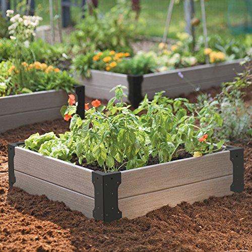 Panacea 89584 Raised Garden Bed Corner Brackets Plant