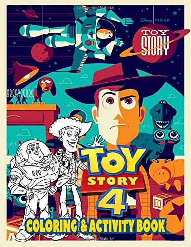 Toy Story Coloring Activity Book Fun And Learning Christmas Holiday Activities And Coloring Pages For Preschool Kindergarten And School Age Children Al Greene 9781712025376 Amazon Com Books