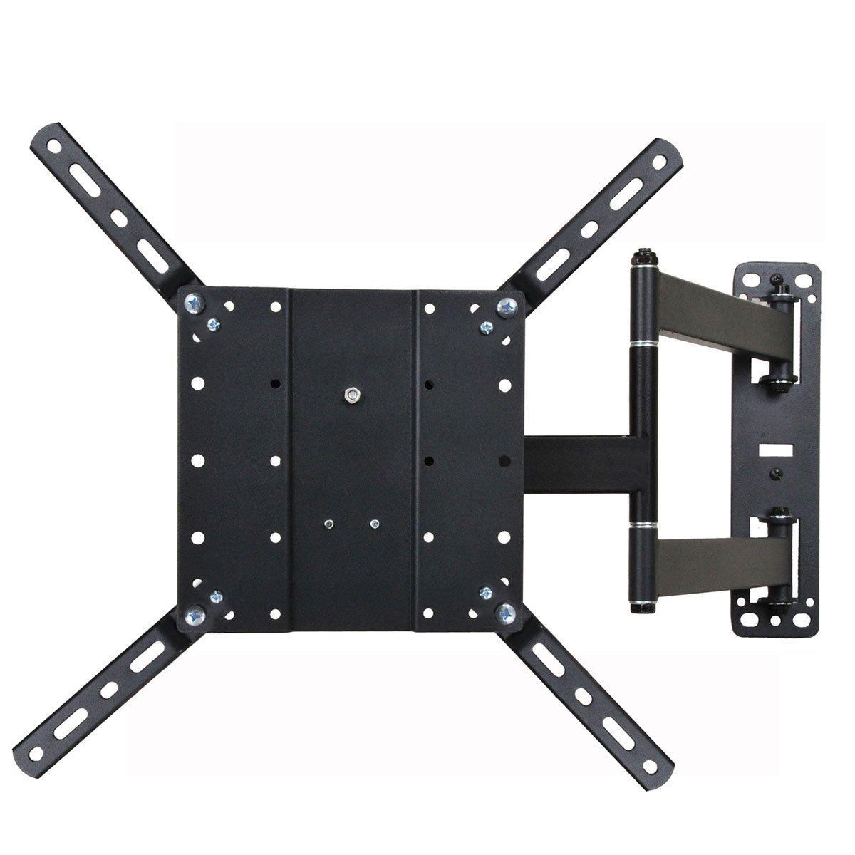 VideoSecu Articulating Mount Tilting TV Wall Mount for Most Vizio Samsung Sharp LG Sony 26 – 55 LCD LED Plasma TV Fit VESA 400×400, 400×300, 400×200, 300×300, 300×200, 200×200, 200x100mm ML550B 1KB