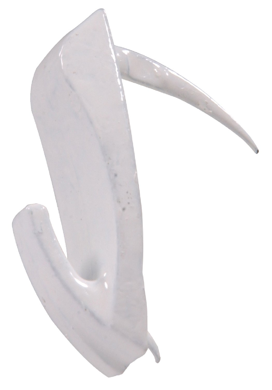 Hillman 122398 Large Wall Biter Picture Hangers White Finish 60lbs Package of 3