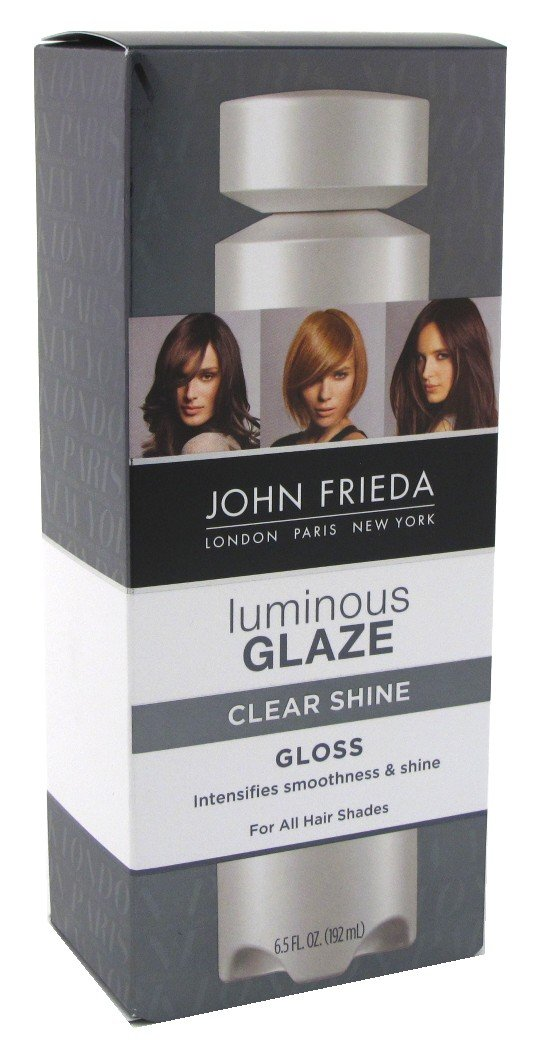 John Frieda Luminous Colour Glaze Clear Shine Gloss 6.5oz (3 Pack)