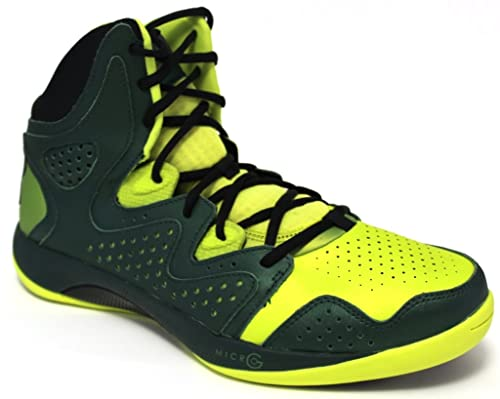 Under Armour Zapatillas Baloncesto hombre Micro Torch 2 - 1238926 - 325 - Vel/Green/blg-47: Amazon.es: Zapatos y complementos