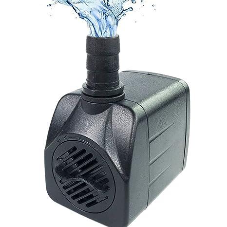LONDAFISH Bomba Sumergible Bomba de Agua para Acuario, Estanque, Tanque de Peces Mini Bomba