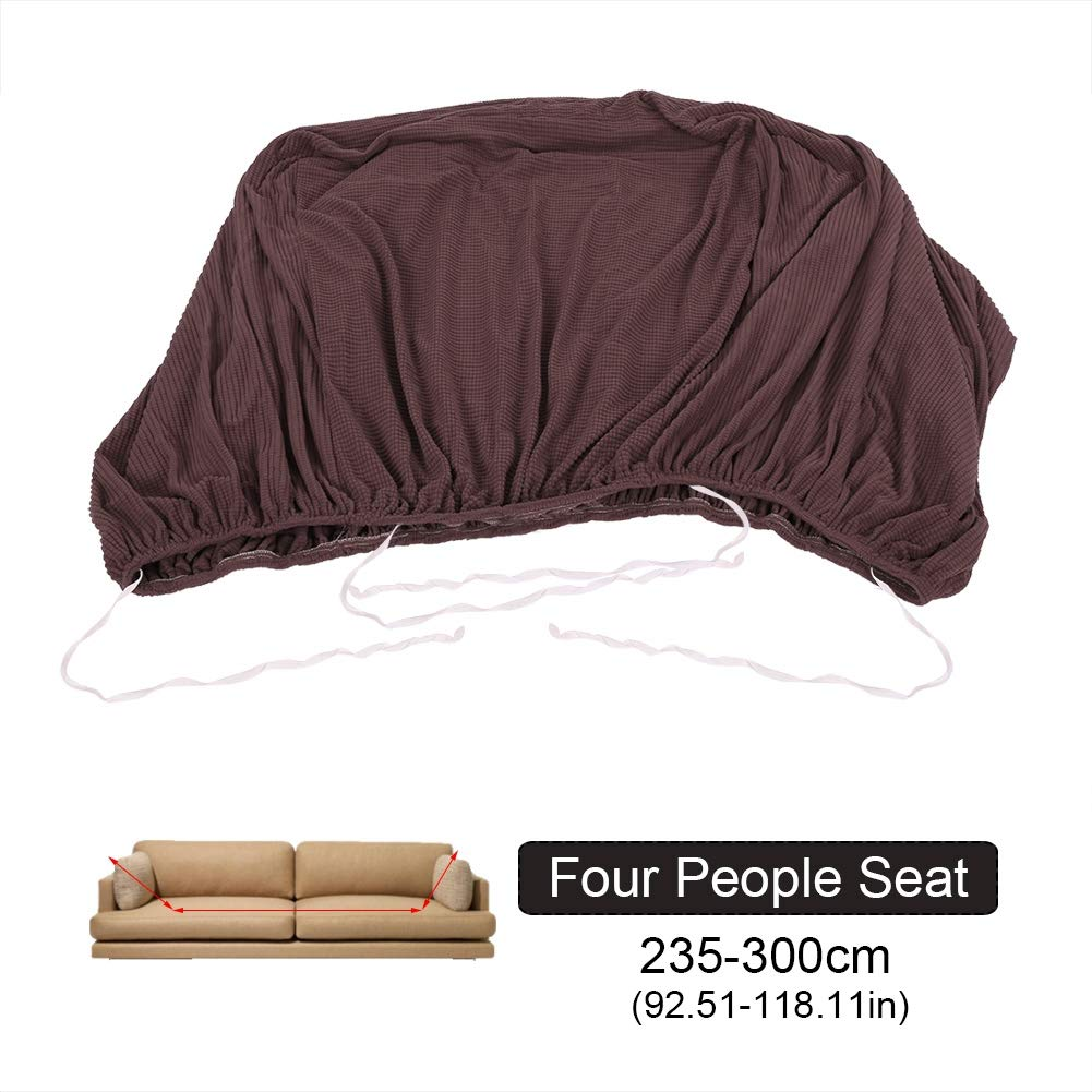 Beige, 1 Seater:90-140cm Cocoarm Sofa/überz/üge Einfarbig Elastische Sofabezug Sofa /Überw/ürfe Couch Abdeckung Anti Rutsch Nicht schrumpfen M/öbel Protector All-Covered Sofa Kissen