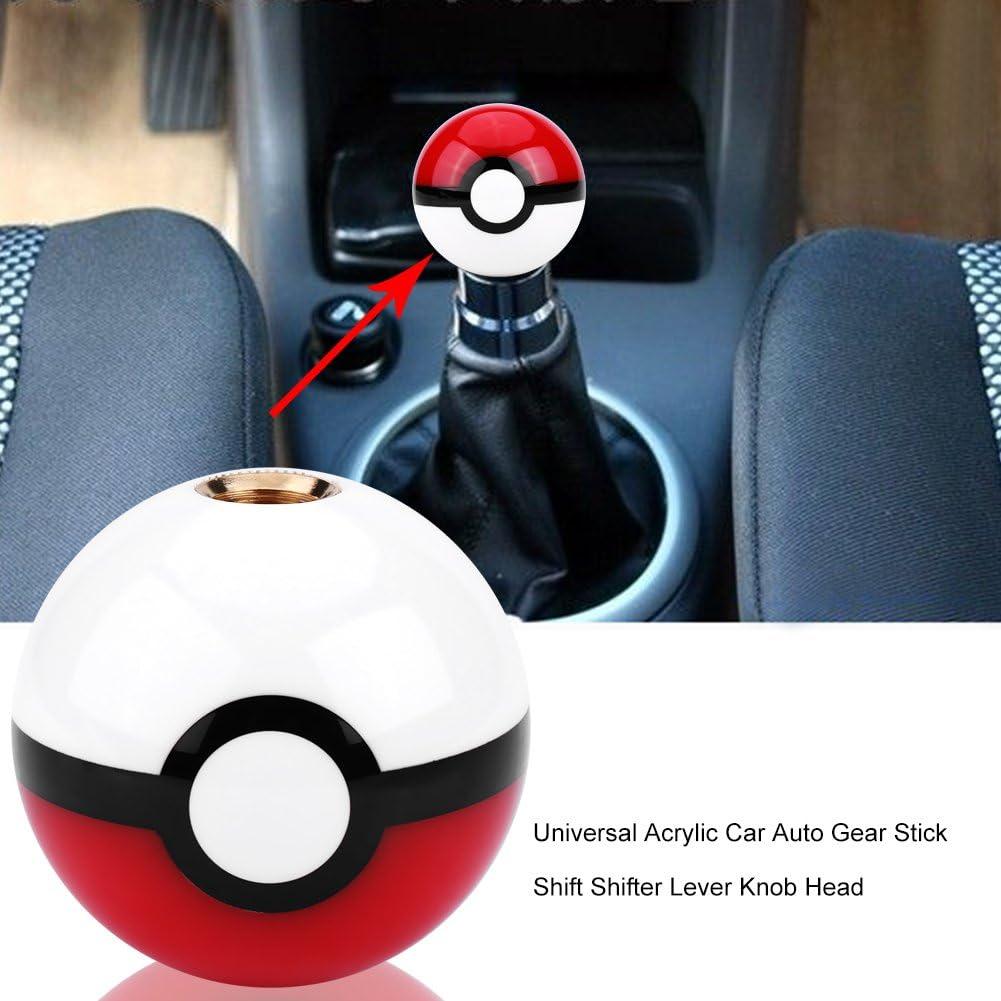 Qii Lu Universal Acryl Auto Schalthebel Schalthebel Hebel Knopf Kopf Pokemon Auto