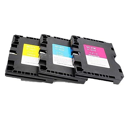 ouguan® 3 x Ricoh GC 41 cartuchos de tinta compatibles con Lanier ...