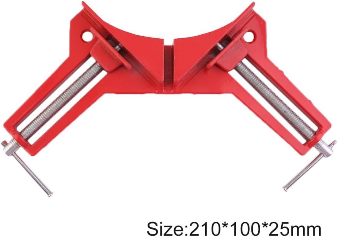 Red /& Silver Greatangle Professionale da 90 Gradi ad Angolo retto Picture Frame Corner Clamp Holder Woodworking Hand Kit Resistere ad Alta intensit/à di Forza