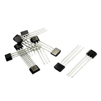 Sensor de efecto Hall - TOOGOO(R)10pzs Y3144 Sensible Sensor de efecto Hall Detector magnetico 4.5-24V: Amazon.es: Bricolaje y herramientas