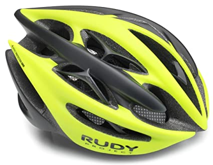Rudy Project Sterling + Bicicleta Casco - Yellow Fluo/Black Mat ...