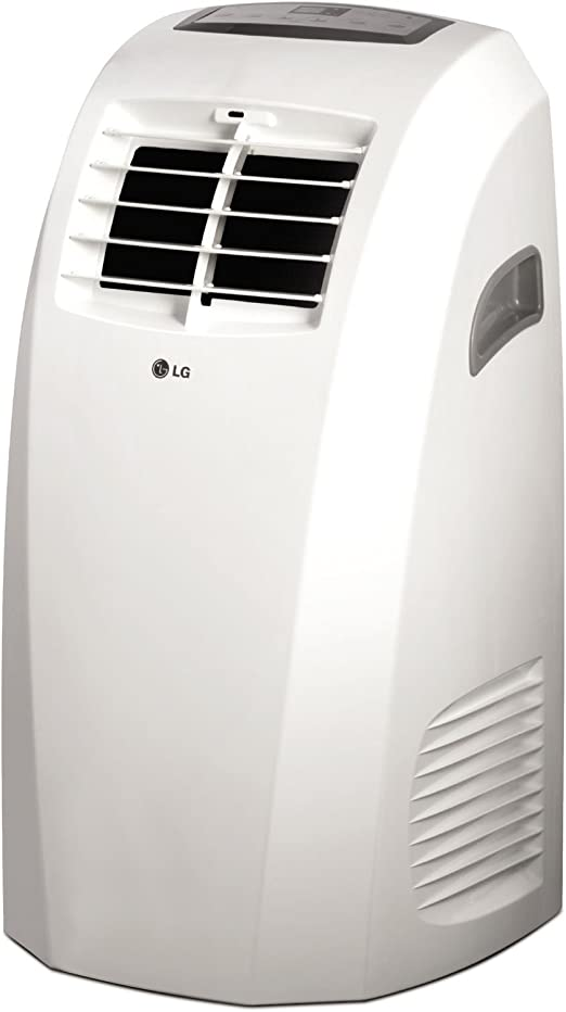 Amazon Com Lg Lp1015wnr 115v Portable Air Conditioner With Remote Control In White For Rooms Up To 250 Sq Ft Renewed Home Kitchen
