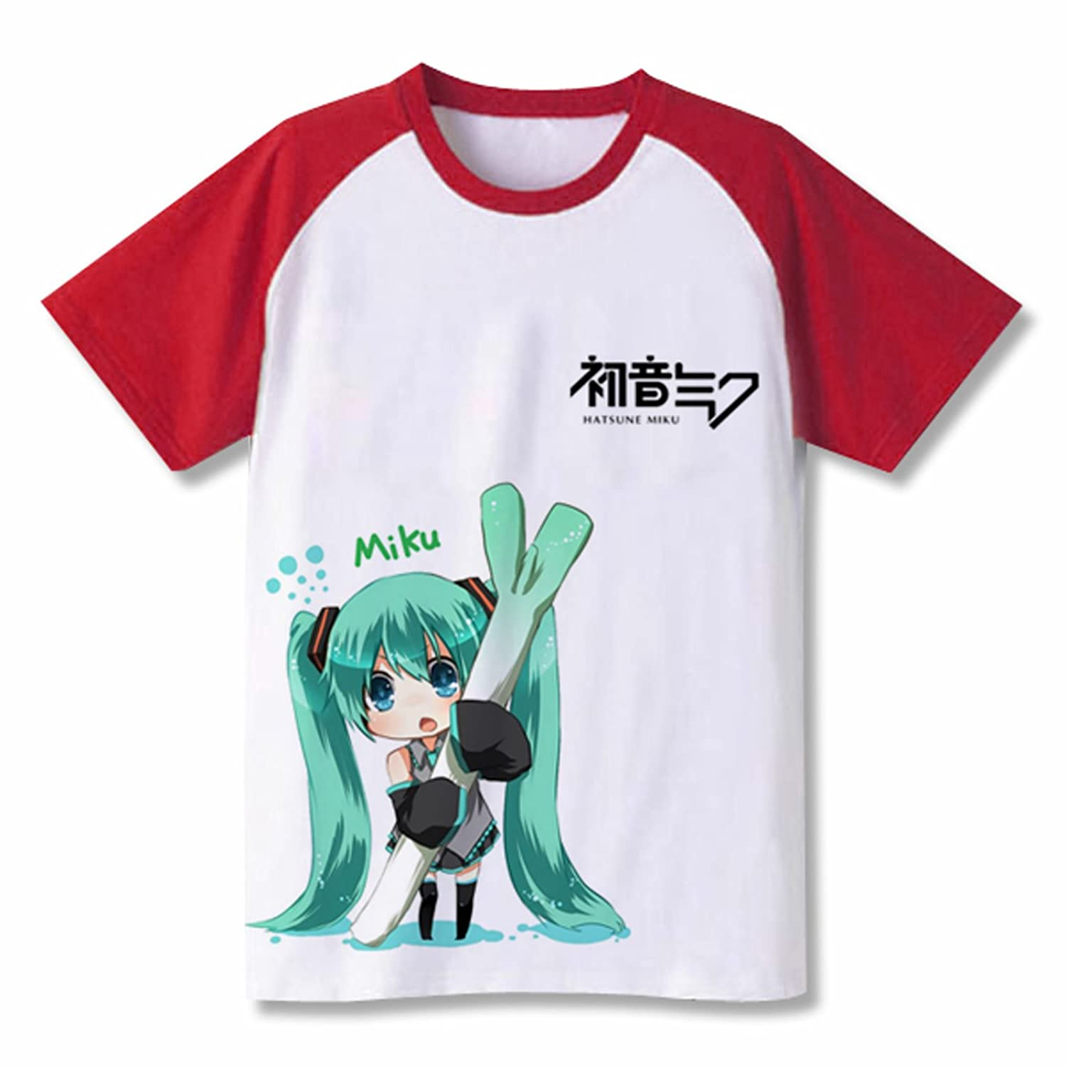VOCALOID 2 Miku Hatsune Short Sleeves Tee T-Shirt