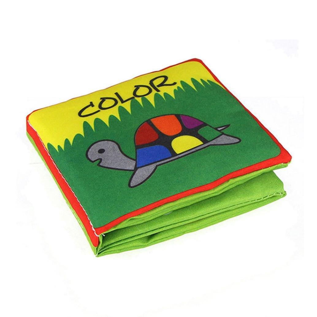 Education toys,Mandy Soft Cloth Intelligence Development Learn Cognize Book D