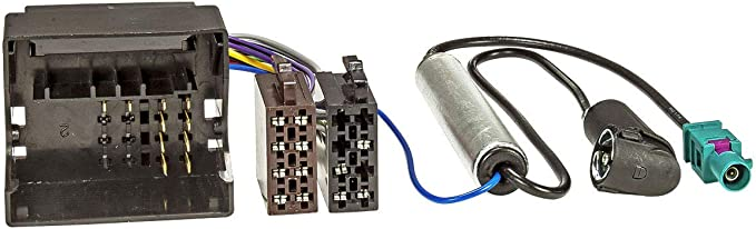 tomzz Audio 7008 – 001 cable adaptador de radio para Citroën a partir de 2004, Peugeot a partir de 2005 a + Adaptador de antena ISO con inyección ...
