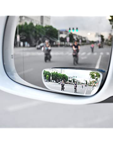 miroire gran angular ángulo muerto en coche, espejo de coche, sin mancha, 2