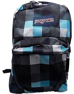 Jansport Superbreak Backpack (Forge Grey/Blinded Blue Double Bluff)