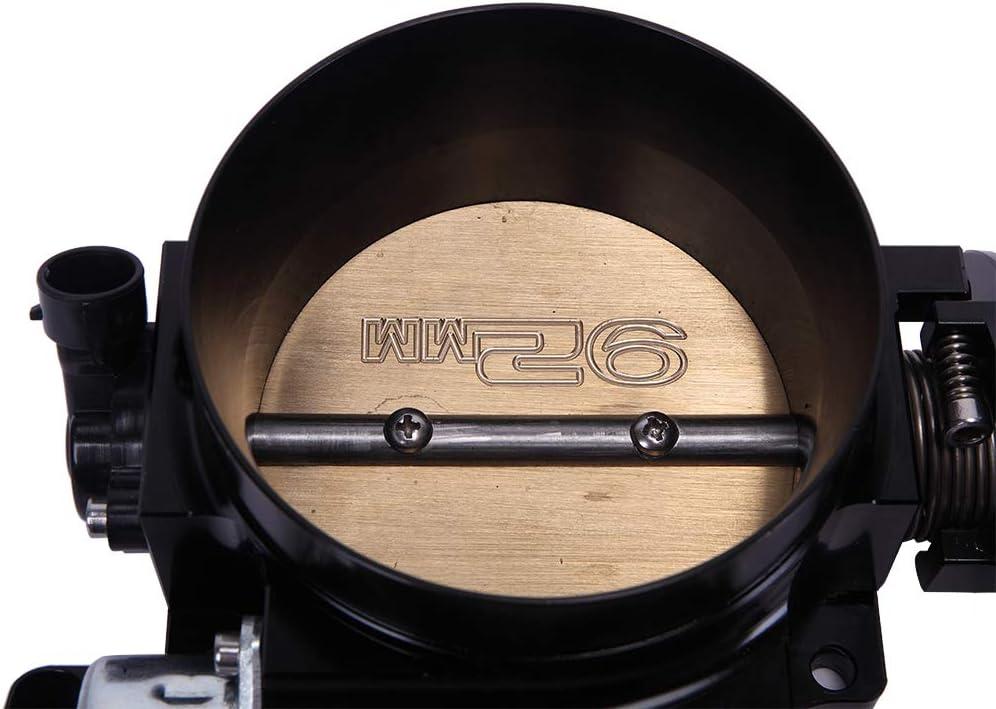 Black KABOCHO 92mm Throttle Body Fit for LSX LS LS1 LS2 LS7
