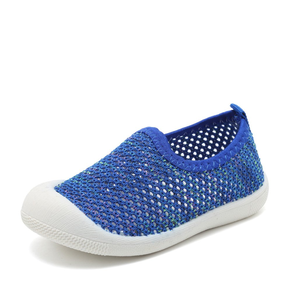 CIOR Kids Shoes Slip-on Breathable Mesh Sneakers Water Shoes Running Pool Beach (Toddler/Little Kid)