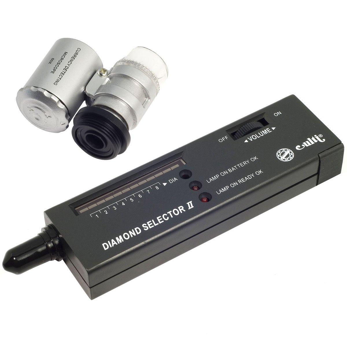 Tester Kit V2 Diamond Jewelery Selector Tool + Case +60 x Zoom Lens Loupe TE20 XCSource TE020