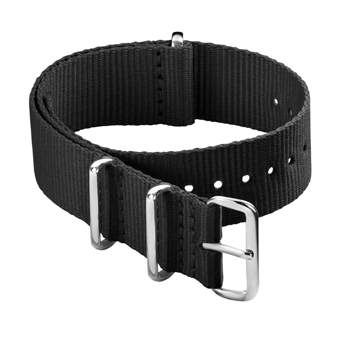 Archer Watch Straps - Classic Nylon NATO Straps | Choice of Color and Size (18mm 20mm 22mm 24mm)
