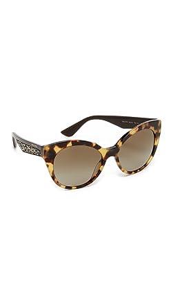 Miu Miu Unisex Sonnenbrille MU06RS, Braun (Havana 7S01X1), One size (Herstellergröße: 57)