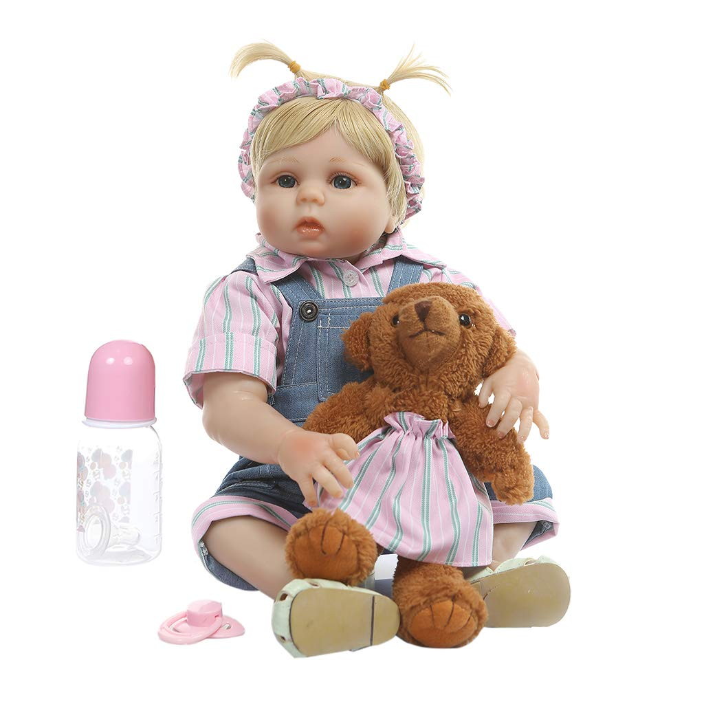 wholesape barato Vivitoch - - - Muñeca de bebé recién nacida de silicona (48 cm)  marcas en línea venta barata