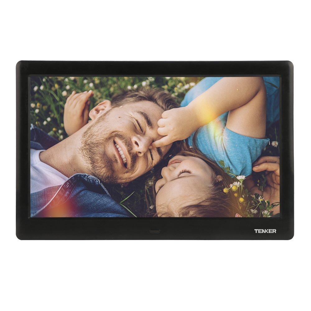 TENKER 10 Zoll HD Digitaler Bilderrahmen IPS LCD Display mit ...