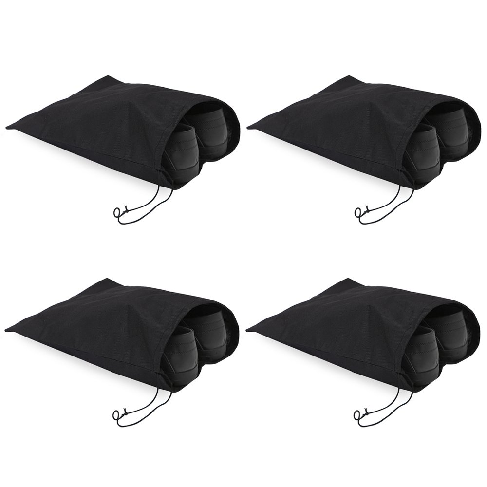 シューズバッグ、Bukmポータブル旅行友達ナイロンストレージ旅行トートバッグShoe Bags with Drawstring 16