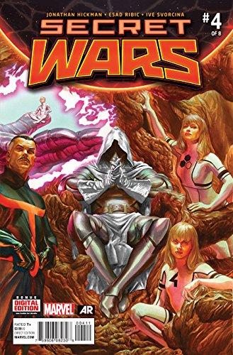 Secret Wars #4 (of 8) Marvel Crossover Event Comic Book Alex Ross Cover (Best Secret Wars Comics)