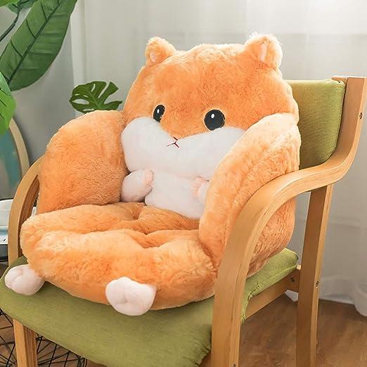 Felpa Cálido Cojín del asiento, Amortiguador de la silla ...