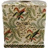 Home decor. Tissue Box. Dimension: 6.25 x 6.25 x 6. Pattern: Fern.