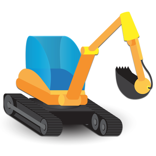 100 Diggers and Excavators. Fun Ad-free Educational Picture Book. For Small Kids And Toddlers!