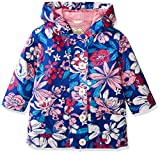 Hatley Little Girls' Cotton Coated Raincoat, Miyako Blooms, 5