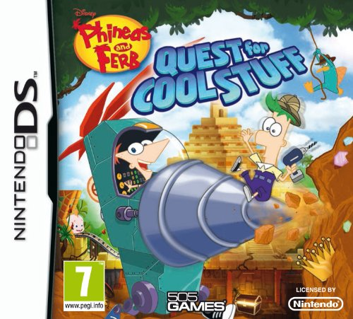DS - Phineas & Ferb: Quest for Cool Stuff - [PAL EU - NO NTSC]