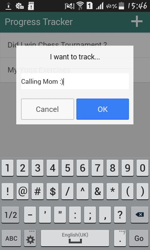 amazon com yes no progress tracker appstore for android