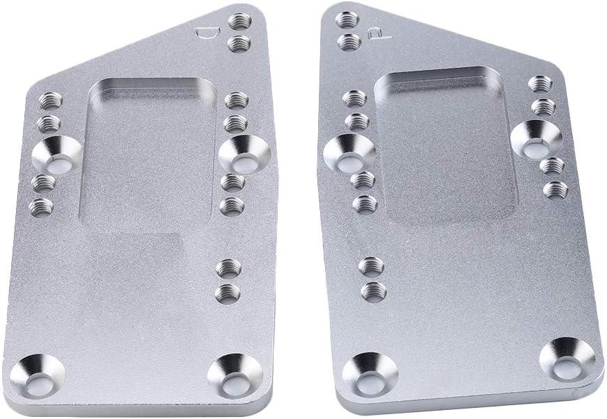 Alician Engine Swap Bracket SBC Billet LS Conversion Motor Mount Adjustable Plate LS1