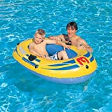 Bestway Rx-2000 Inflatable Raft/Boat - Blue, 57x34 Inch