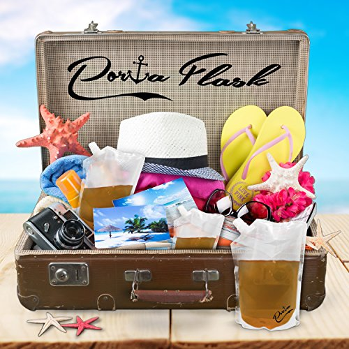 Porta-Flasks-Cruise-Liquor-Bag-Kit-Durable-Reusable-Flask-Kit3-x-32-Oz-3-x-16-Oz-3-x-8-Oz