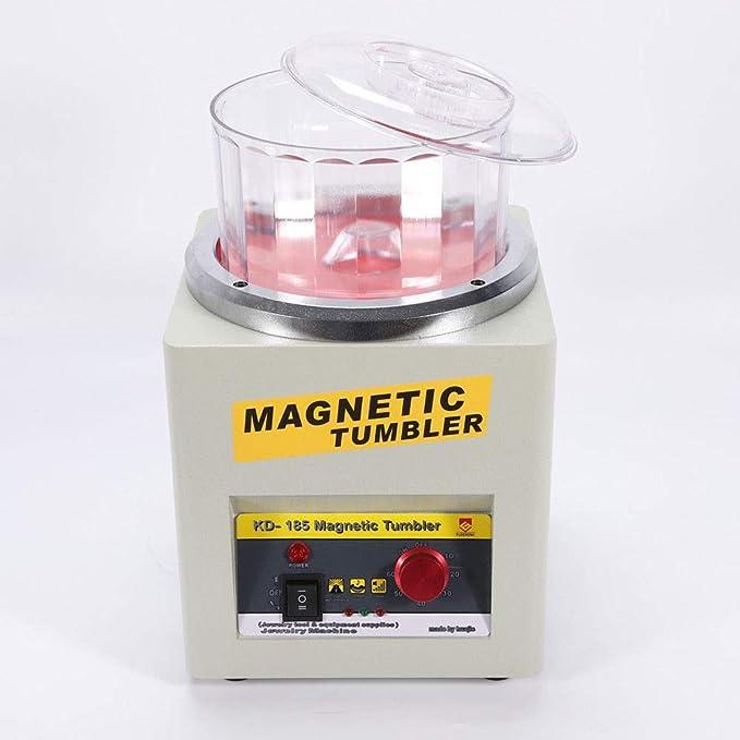 Magnetic Tumbler Polisher Entgraten Finisher 02 Schmuck Poliermaschine