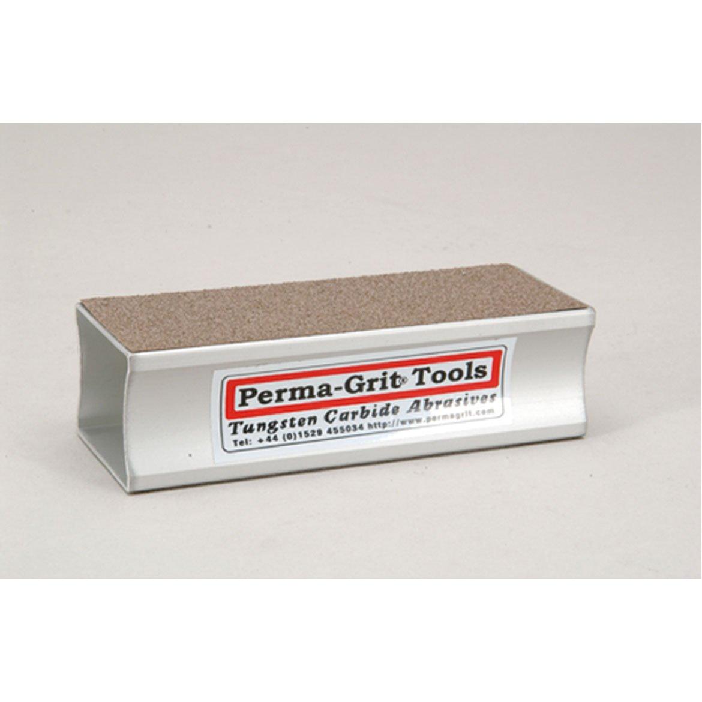 Sanding Block Perma-Grit 140mm x 51mm double sided sanding block Coarse//Fine