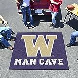 """Fan Mats Washington Man Cave Tailgater Rug 60""""X72"""""""