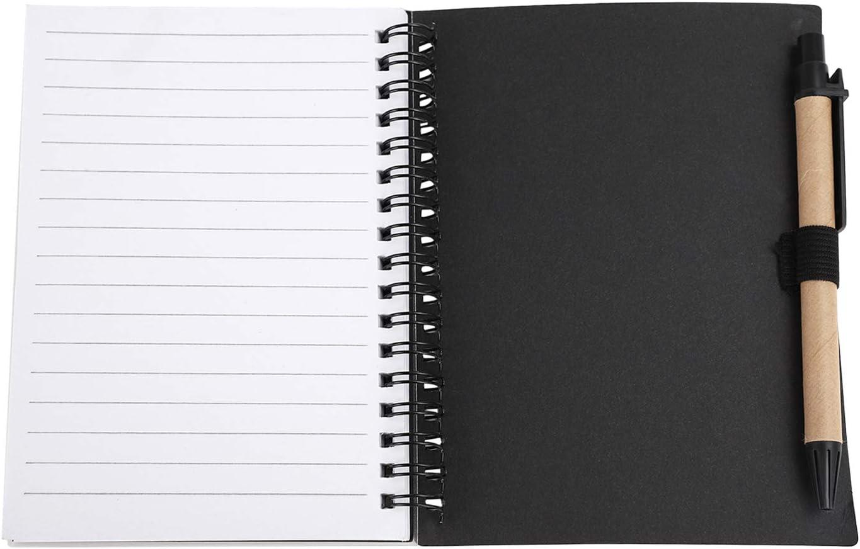2 St/ück Skizzenbuch mit Spiralbindung A5 Hochformat Skizzenblock S/äurefrei Zeichenpapier Hardcover Notizblock Blanko Spiralbuch f/ür Schreiben und Zeichnen